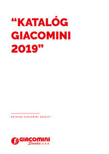 Katalóg Giacomini