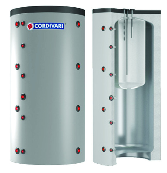 COMBI 1 - Akumulačná nádoba s bojlerom