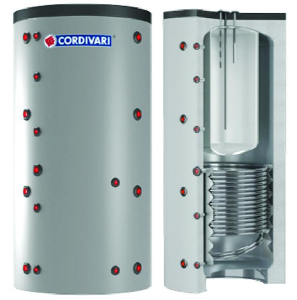 COMBI 2 - Akumulačná nádoba s bojlerom a výmenníkom