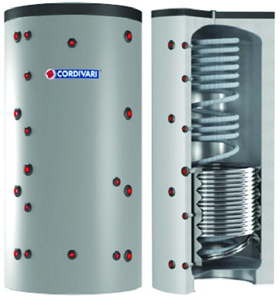 ECO COMBI 2 - Akumulačná nádoba s prietokovým ohrevom a výmenníkom