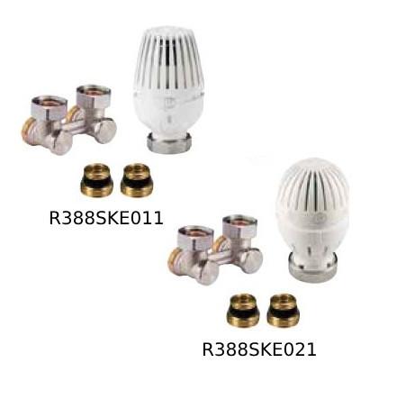 R388SKE SET na pripojenie radiátorov VK - rohové pripojenie