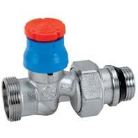 R412TG Termostatický ventil - priamy