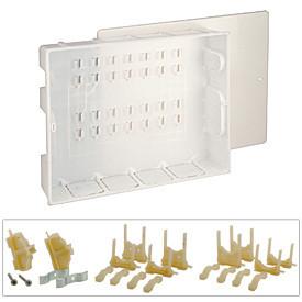 R595 Plastová skrinka s krytom pre tyčové rozdeľovače