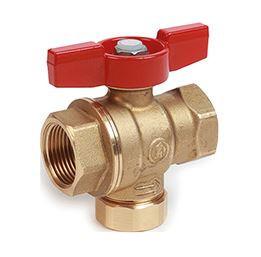 R701F - Guľový ventil s filtračným sitkom