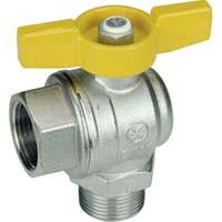 R780 Guľový ventil rohový MF
