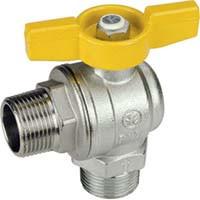 R782 Guľový ventil rohový MM