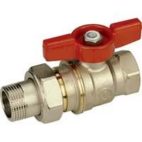 R919 Guľový ventil s guľou DADO a šróbením